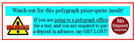 polygraph exam in Galt CA