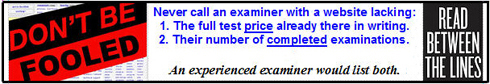 written price quote for a Sacramento lie testing